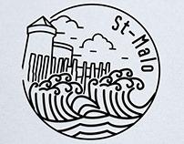 Création logo goodies, st-Malo, Loolye Labat