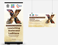 Xcelerator Ludhiana Standee Design - GAME