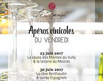Flyer Apéros Vinicoles du vendredi