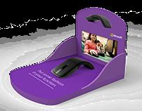 Microsoft Interactive Retail Sheving Displays