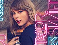 Taylor Swift 1989 Tour Sponsorship for Keds