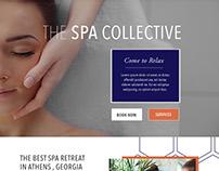 Modern Spa Website