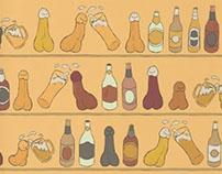 Cheers! (Penis Beer Celebration)