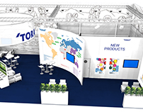 Toray Industries | Booth Design - drupa 2016