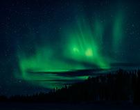Northern Lights Over Kuusamo, Finland