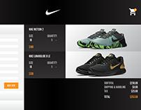 DailyUI 002: Checkout - Nike Checkout Redesign