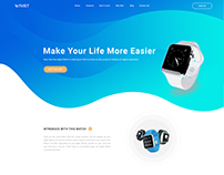 Apple Watch Landing page