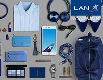 LAN INTER Campaign / APP LAN Esencial en tu Viaje