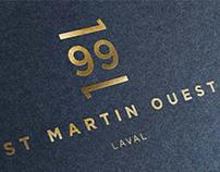 1991 St Martin - Branding