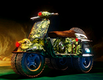 Vespa 4x4 Mad Max