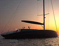 Cascada 34 - Luxury sailing yacht