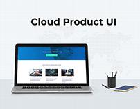 Cloud Product UI