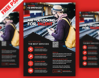 Professional Services Flyer PSD Freebie
