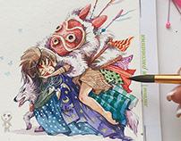 Studio Ghibli`s characters