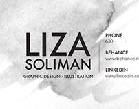 Spring 2015 Business Card