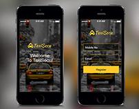 TaxiSecu Mobile App