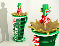 Knorr Cup a soup Floor Standing Unit