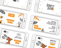 FOREST JUMP / mobil app