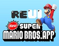 reUI - NEW SUPER MARIO BROS. APP