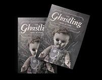 The Ghastling - Editorial, Custom Typography