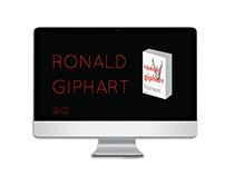 responsive website Ronald Giphart