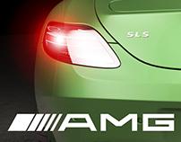 Mercedes Benz SLS AMG CGI