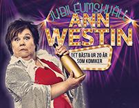 ARTWORK FÖR ANN WESTINS 20-ÅRS JUBILEUM