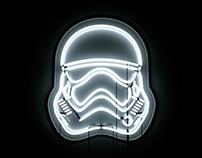 Star Wars Neons // Wallpapers