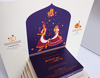 Wedding Card - Saptpadi