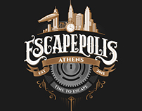 ESCAPEPOLIS | Escape Rooms in Athens | logo design