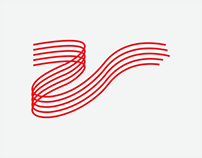 R curve Logo design