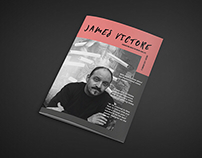 Magazine about the artist James Victore
