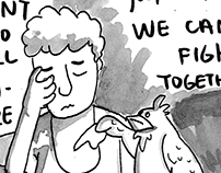 Chickens' Revolution  ( Short Graphic Novel)