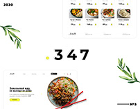 Landing page   UX/UI   Доставка еды
