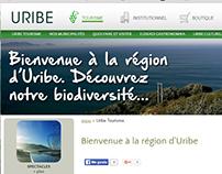 Traducción web www.uribe.eu