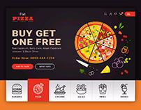 Flat Pizza Design