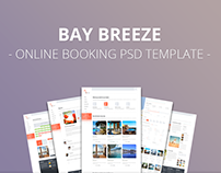 Bay Breeze - Online Booking PSD Template