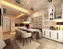 Interior Design from KSD. Kitchens and Loft-studios