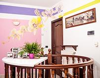 Flowers livingroom