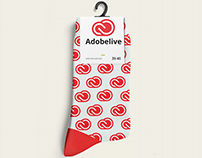 Creative cloud sock.