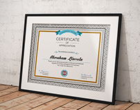 3 Great Multipurpose Certificate Vol-55