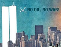 NO OIL, NO WAR!