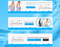 Frankies Bikinis - Web Banners