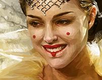 Queen of Naboo - Polygon Art