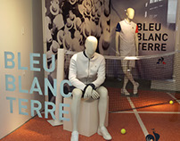 Escaparate Le Coq Sportif - Tennis Performance