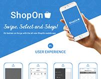 ShopOn - Shopping App