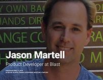 Jason Martell | Product Developer at Blast