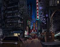 Triptyque Ville Transhumaniste