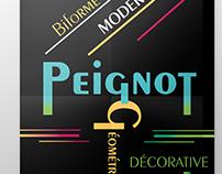 Dépliant Peignot