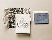 Guo Pei Invitation Design